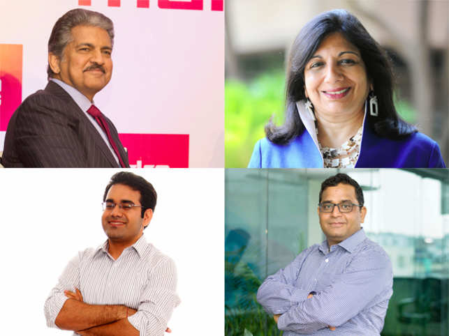 These top minds of India Inc may have mastered the skill of being concise with words, yet speak their hearts out on business and beyond