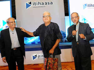 Itihaasa, a mobile app conceived by Infosys co-founder Kris Gopalakrishnan, was launched here on Sunday evening.