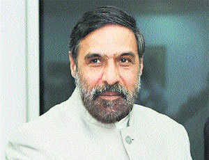 Anand Sharma, Commerce & industry minister, Govt of India