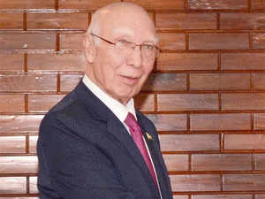 Sartaj Aziz today indicated that his country may consider a request by India for a visit by its NIA team to further probe the Pathankot terror strike, days after top Pakistani envoy ruled out the same.