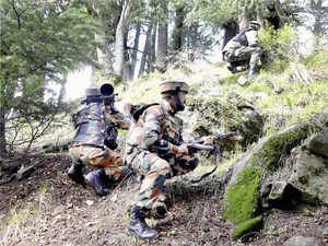 An unidentified militant was killed today in an encounter with security forces in north Kashmir's Kupwara district, army said.