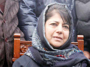 """If US and Iran can join hands, I see no reason why India and Pakistan cannot come together to restore stability and begin a new era of peace and prosperity in the region,"" Mehbooba said."