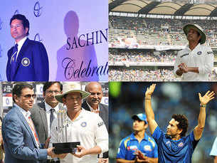 Sachin Tendulkar celebrates his 43rd birthday