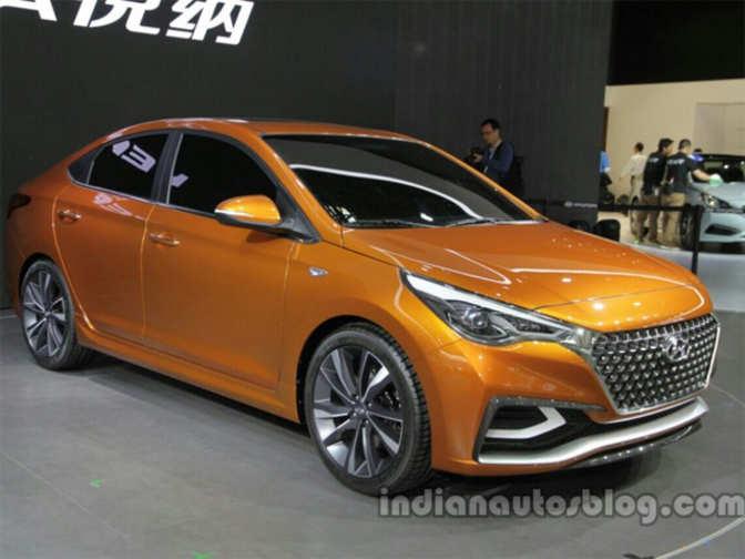 Swift 2016 Price In Pakistan >> Hyundai unveils Verna Concept at Auto China 2016 - Hyundai ...