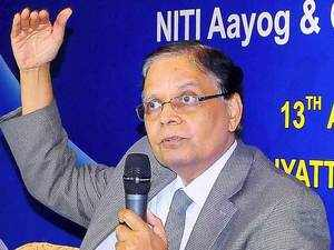 """""""The economic growth rate will be more than 8 per cent during the current fiscal. There is a forecast of above-normal monsoon this fiscal,"""" Panagariya said."""