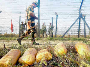 "The ""laser walls"" or fence are being monitored by Border Security Force (BSF) which guards the Indo-Pak IB in Jammu and Kashmir, Punjab, Rajasthan and Gujarat."