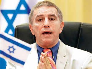 Israel is in hot pursuit of the water business in India, and is eagerly awaiting Modi's visit to the country, which will be the first by an Indian PM, Daniel Carmon has said.
