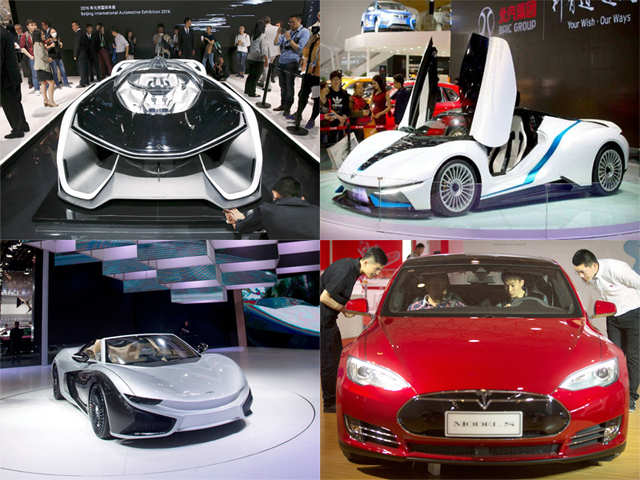 Top Ten Electric Cars Showcased At Beijing Auto Show Top