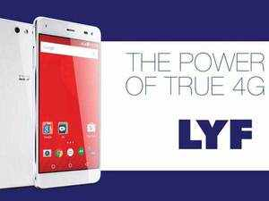 Reliance Jio's Lyf branded smartphones has become the fifth largest player in the Indian market capturing 7% share in the January-March quarter of this year, as per latest report by market tracker Counterpoint Research.