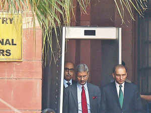 Senior diplomats from India and Pakistan suggested that the neighbours need to engage even in trying times including discussing issues  as contentious as Khulbhusan Jadhav.