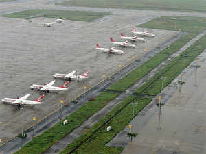 Flying out of IGI Airport here has got cheaper from today with the discontinuation of the development fee being charged from each passenger for the past several years.