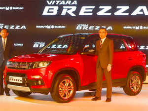 At Maruti, sales grew more than 16% to 1,17,045 units in April in the domestic market, helped by demand for premium hatchback Baleno and Vitara Brezza.
