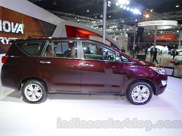 Toyota Innova Crysta 2 8 At Toyota Innova Crysta Launched At Rs