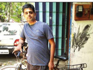 In the IISc experiment, Murali circulated 150 bicycles for students and faculty to move around on the sprawling campus.