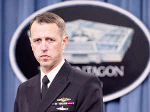 "Admiral John Richardson said there is a ""maritime dimension"" to the ""terrific growing"" India US defence relationship."