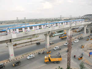L&T Hyderabad Metro Rail which is implementing the Rs 16,000-crore elevated metro rail project here, today said the work is expected to be delayed by almost 18 months.
