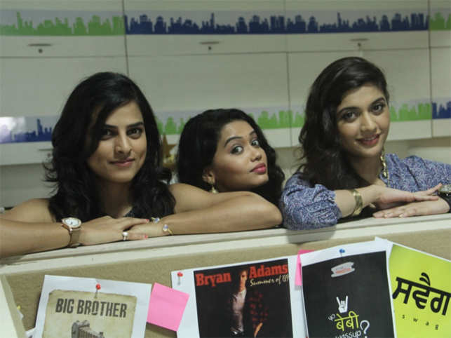 The series revolves around three vivacious girls, who have come from different regions of the country to pursue their passion in the city of dreams, Mumbai.