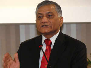 """In a written reply to RS, Minister of State for External Affairs Gen V K Singh (Retd) said China is assisting Pakistan in the development of the so-called """"China Pakistan Economic Corridor."""""""