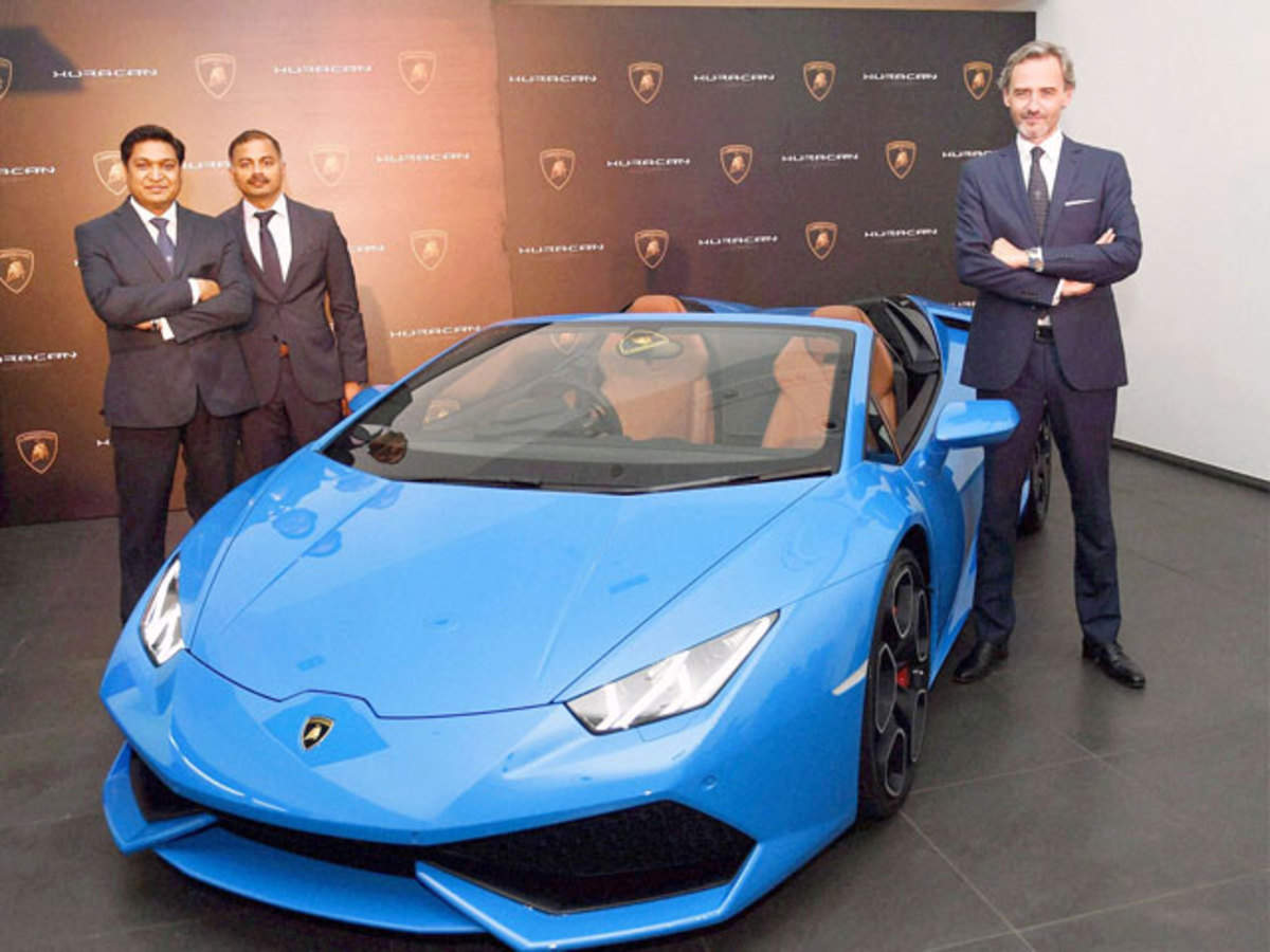 Lamborghini Rolls Out New Huracan Spyder At Rs 3 89 Crore The