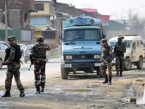 Three Hizbul Mujhahideen militants were killed early today in an encounter with security forces during a search operation in south Kashmir's Pulwama district. (Representative image)