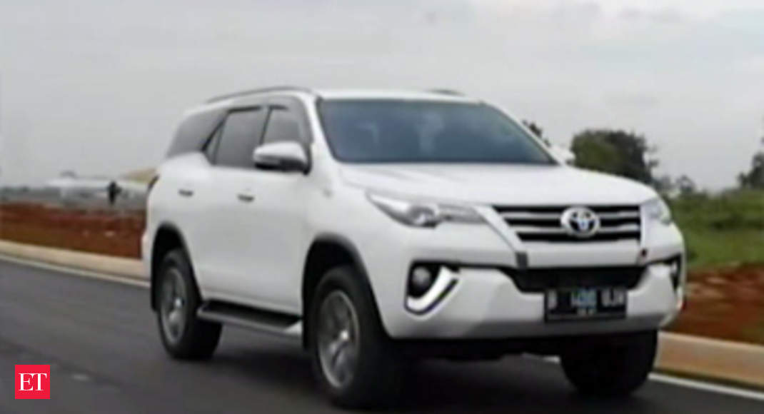 Autocar Toyota Fortuner Review The Economic Times Video Et Now