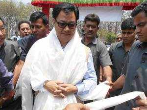 """""""China has to agree. We can't enforce anyone. There has to be mutual consent, then only 'border haats' can be set up,"""" Minister of State for Home Kiren Rijiju said."""