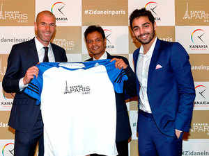 """This is my first involvement in India directly and I am delighted to be a part of this project,"" said Zinedine Zidane, former captain of the French National football team."