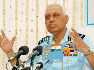 ED has questioned former IAF chief S P Tyagi yet again in connection with its money laundering probe in the Rs 3,600 crore VVIP chopper deal.