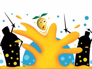 Frooti had a share of 25.6% in India's Rs 6,300-crore mango drink category against Slice's 23.4% in the quarter ended March, said industry insiders.