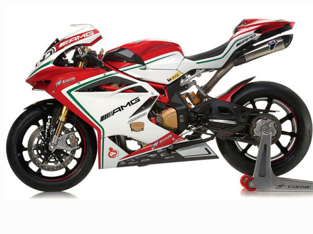 MV Agusta, which is entering India in a partnership with Pune-based Kinetic group, launched three superbikes here: the F3, F4 and Brutalle 1090. (File photo)