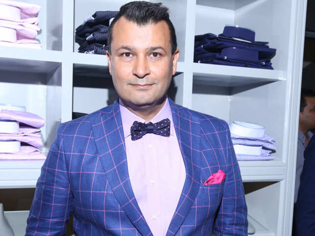 The ace designer, who has spent over two decades in the fashion industry, has recently set up a luxe store for men in Delhi.
