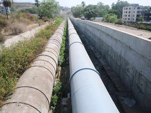 The pipeline system will not only save money but also stop water leakages and thefts.