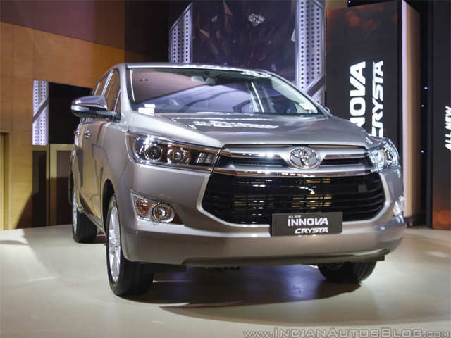 Most Feature Packed Mpv Toyota Innova Crysta Here S All You Need
