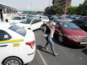 The traffic flow in Ghaziabad is about 30000 PCUs per day due to three national highways – NH-24, NH-58 and NH-91 — passing through the city.