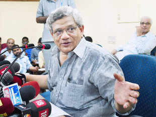 After Thursday's results, Yechury told journalists that the party was set to review and discuss the verdict soon.