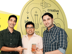 In Pic: Vedantu's cofounders Vamsi Krishna (L), Anand Prakash (C) and Pulkit Jain.