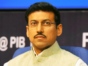 """Such news should be presented before the public in such a manner so that it doesn't create panic,"" Rathore said."