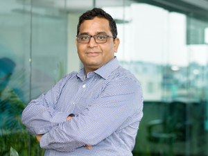 Vijay Shekhar Sharma, founder of One97 Communications Ltd., the owner of Paytm, said his company was becoming a payments bank, from only a wallet company, as connecting credit cards or debit cards was no longer a problem to solve.