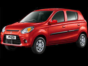 Maruti's Alto retained the top position in April with 16,583 units, as against 21,531 units in April last year.