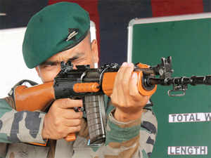 (Representative image) The Army today vowed to hit back hard on the militants who carried out an ambush which killed six Assam Rifles personnel in Manipur's Chandel district.