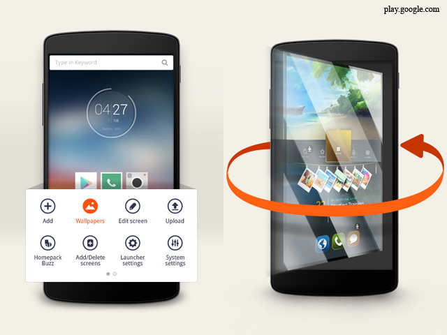 10 best launcher apps for Android smartphones - 10 best launcher