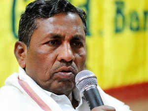 """The former union minister Muniyappa said the """"only achievement"""" of the Union government was that of changing the names of UPA era schemes."""