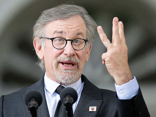 Spielberg invoked stories from his films and his life as he encouraged the graduates to take on the world's woes.