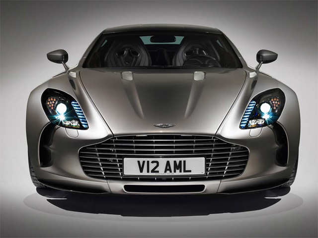 Aston Martin One 77 7 Cars That Only Dubai Police Have In Their