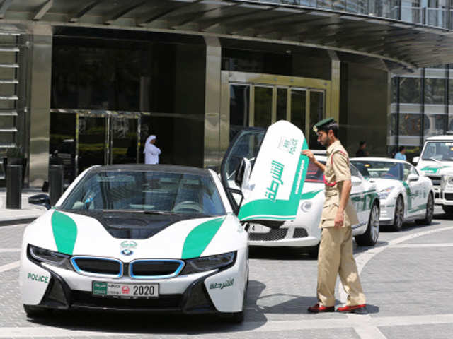 7 Cars That Only Dubai Police Have In Their Fleet Posh Factor Of Dubai Police The Economic Times