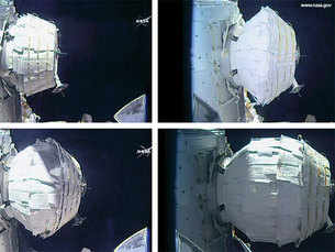 NASA successfully inflates spare room in space