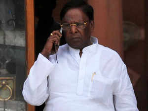 He was elected leader of the 15-member Congress Legislature party on Saturday. The party also has support of two-member DMK in the 30-member Assembly.