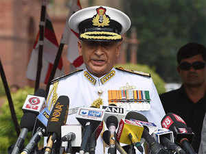 58-year-old Lanba, a specialist in Navigation and Direction, took charge today and will have a full three-year tenure as the chief of Indian Navy.