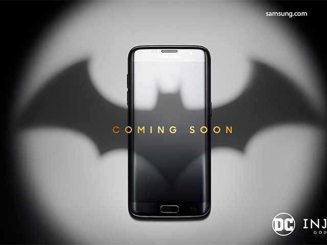 Samsung announces Batman-themed Galaxy S7 Edge Injustice Edition