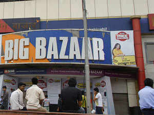 Within organised retail, the Kishore Biyani-owned firm gained 1.7% share, the market researcher Nielsen said.